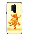 Ganesha Art Glass Case for OnePlus 8 Pro