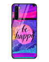 Always Be Happy Glass Case for OnePlus Nord