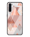 Vicaro Triangles Glass Case for OnePlus Nord