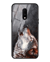 Winter Dog Glass Case for OnePlus 7