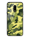 Classic Camouflage Glass Case for OnePlus 7