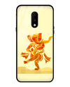 Ganesha Art Glass Case for OnePlus 7