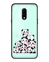 Panda On Top Glass Case for OnePlus 7