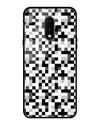 Pixelated Glass Case for OnePlus 7