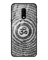 Om Shloka Glass Case for OnePlus 7