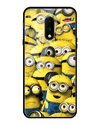 Minions Glass Case for OnePlus 7
