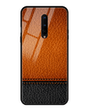 Somo Leather Glass Case for OnePlus 8