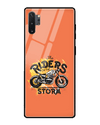 Riders On The Storm Glass Case for Samsung Galaxy Note 10 Plus