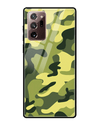 Classic Camouflage Glass Case for Samsung Galaxy Note20 Ultra