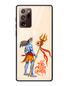 Namah Shivaya Glass Case for Samsung Galaxy Note20 Ultra