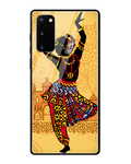 Classical Dancer Glass Case for Samsung Galaxy Note 20