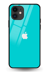 Turquoise Glass Case for iPhone 11