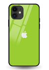 Yellow Green Glass Case for iPhone 11