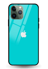 Turquoise Glass Case for iPhone 11 Pro