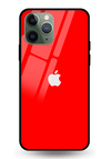 Red Glass Case for iPhone 11 Pro