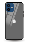 Dim Grey Glass Case for iPhone 12