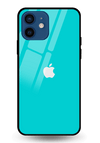 Turquoise Glass Case for iPhone 12 Mini