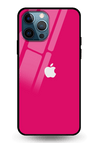 Deep Pink Glass Case for iPhone 12 Pro