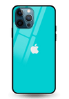 Turquoise Glass Case for iPhone 12 Pro