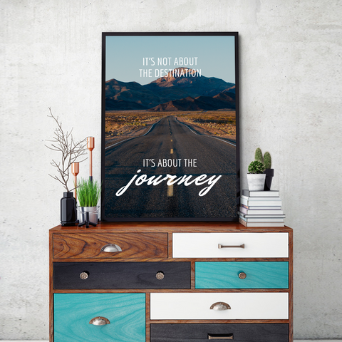 Journey Framed Wall Art - Portrait