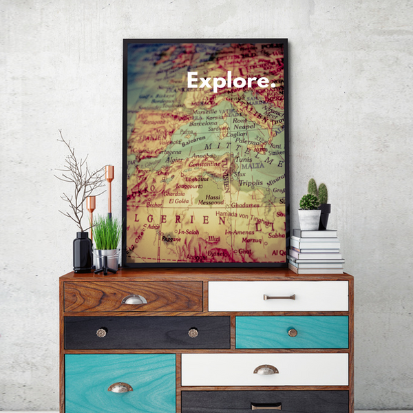 Explore Framed Wall Art - Portrait