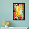 Music Typography Framed Wall Art - Portrait