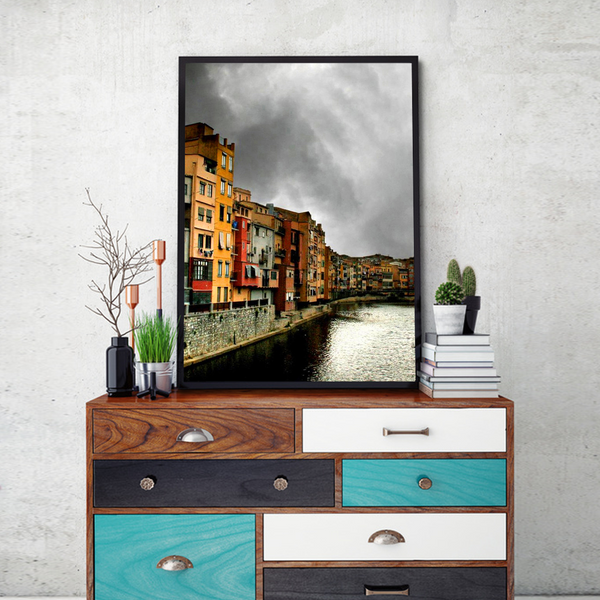 The Venice Framed Wall Art - Portrait