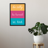 Be Silly Framed Wall Art - Portrait