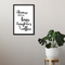 Love Laughter Coffee Framed Wall Art - Portrait
