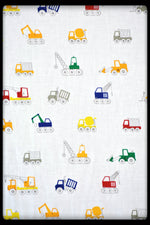 Kids bed sheets - Cot sheet style Cranes 4