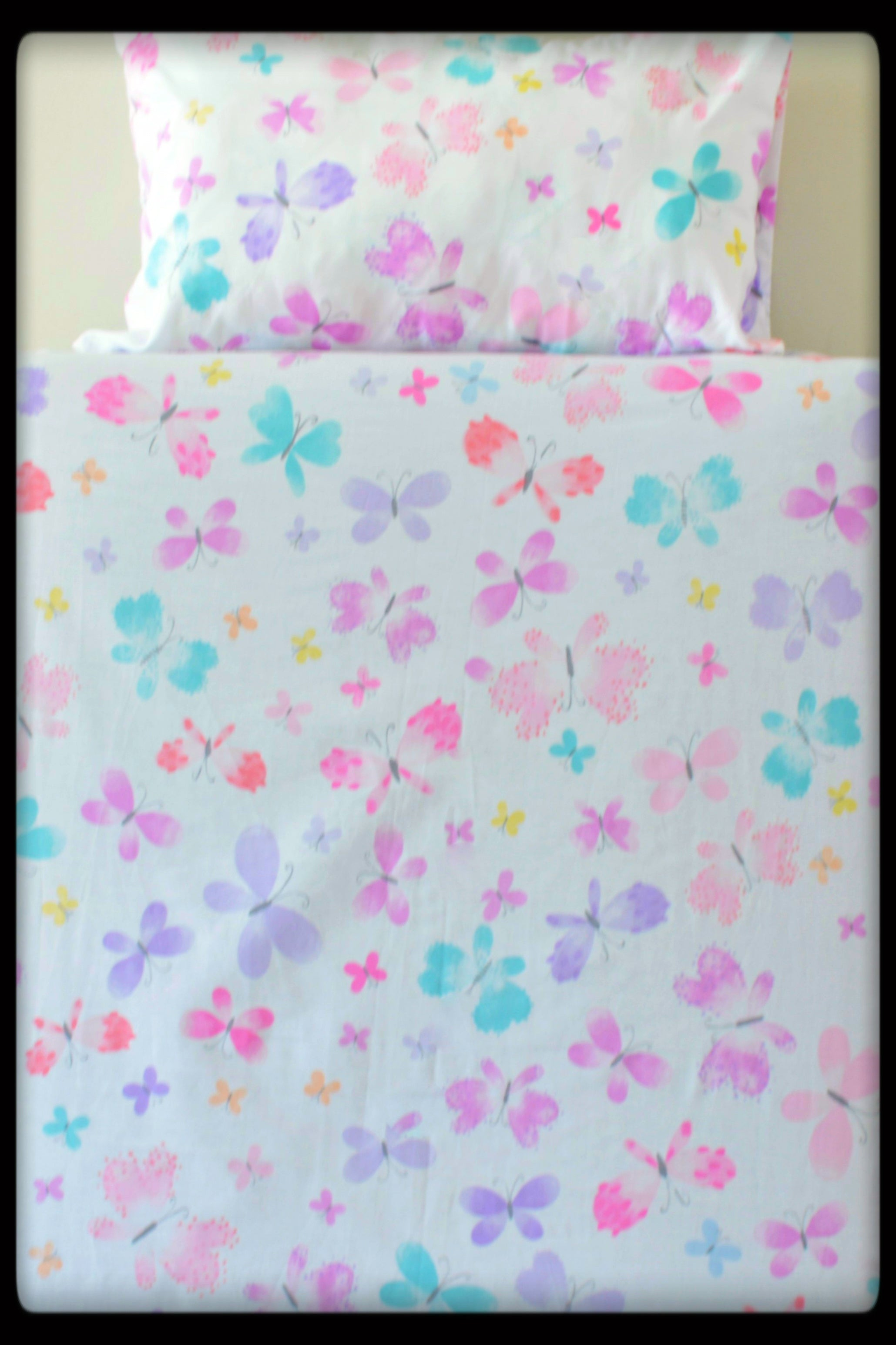 Kids bed sheets - Cot sheet style Flowers 4