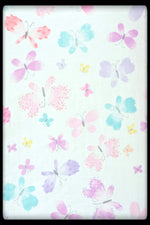 Kids bed sheets - Cot sheet style Flowers 3