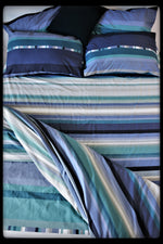 Queen Size Colorful Cotton Quilt Covers by Naqsh (Style : Sahil)