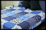 Queen Size Cotton Fitted Sheet by Naqsh (Style: Barsaat)