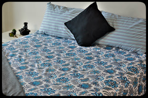 King Size & Queen Size Colorful Bed Sheets (Fitted sheets) Style: Barfi