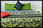 King Size & Queen Size Bed sheets. Quality Bed Sheets. Colorful Cotton Bed Sheets (Fitted Sheets) by Naqsh (Style: Askari /Military)