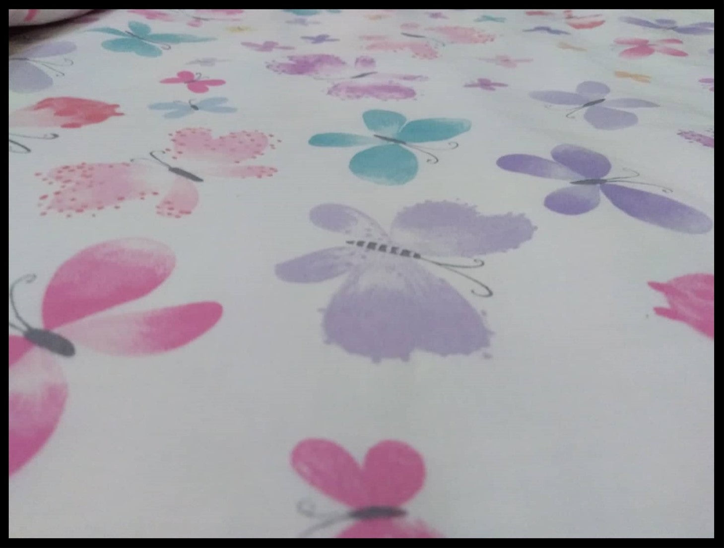 Kids bed sheets - Cot sheet style Flowers2