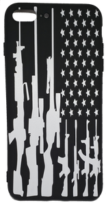 RIFLE Flag Apple Iphone Samsung Phone Shockproof Case Cover