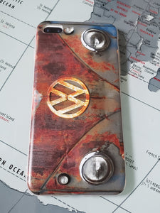 CLASSIC Vdub PATINA Split Window BUS Apple Iphone Samsung Phone Shockproof Case Cover