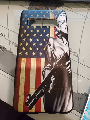 Marilyn Monroe flag Slim Protective Case