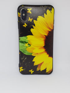 Butterfly Sunflower Apple Iphone Samsung Phone Shockproof Case Cover