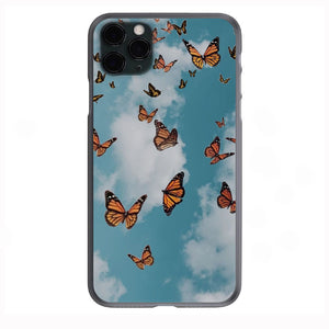 Aesthetic Butterflies Apple Iphone Samsung Phone Shockproof Case Cover