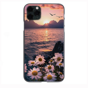 Aesthetic Sunset Dreams Apple Iphone Samsung Phone Shockproof Case Cover