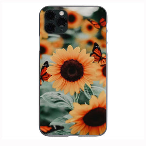 Aesthetic Sunflower Apple Iphone Samsung Phone Shockproof Case Cover