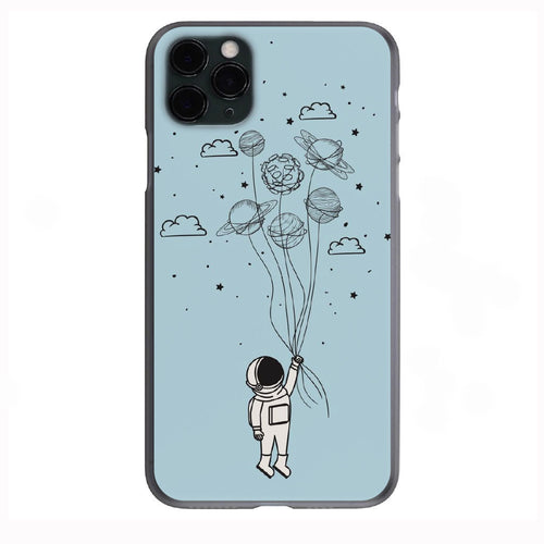 Astronaut Doodle Apple Iphone Samsung Phone Shockproof Case Cover