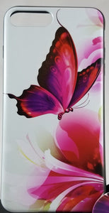 Butterfly Garden Phone Case Apple Iphone Samsung Phone Shockproof Case Cover