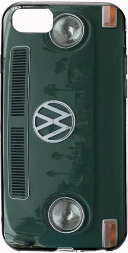 VW Green Bay Window bus Apple Iphone Samsung Phone Shockproof Case Cover