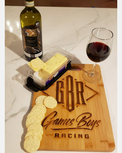 Custom Engraved Cutting board / Cheese board