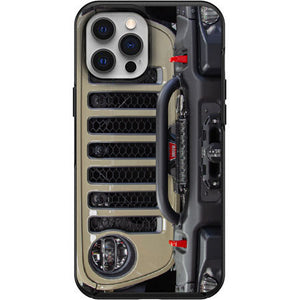 Gobi Jeep Grill Apple Iphone Samsung Phone Shockproof Case Cover Rubicon Sahara JL JT JK YJ TJ WRANGLER