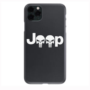 Jeep Punisher Horizontal Apple Iphone Samsung Phone Shockproof Case Cover Rubicon Sahara JL JT JK YJ TJ WRANGLER